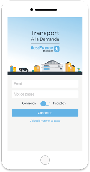 Application Transport à la demande